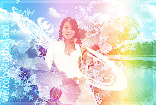 Design Thai-Styled Angelic Artwork From Ordinary Photos - Photoshop Tutorials Lorelei Web Design