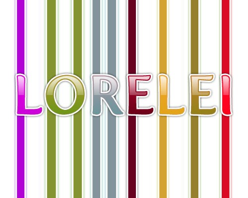 Design a Glossy Candy Text Effect For Kids - Photoshop Tutorials Lorelei Web Design
