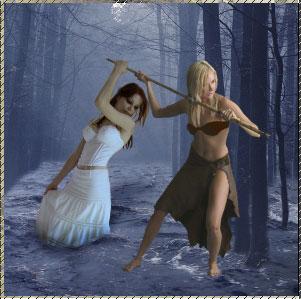 Design a Surreal Fantasy Art Forest Flood Tale - Photoshop Tutorials Lorelei Web Design