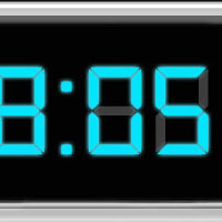 Design Animated Digital Clock With Live LCD interface