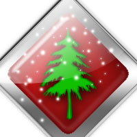 Design a High Resolution Christmas Glossy Icon