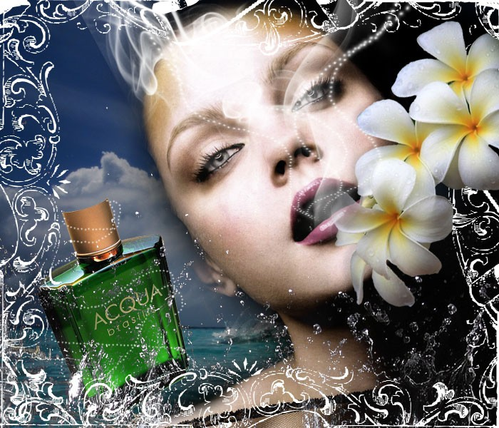 Design a Stunning French Perfume Advert Poster - Design Lorelei Web Design