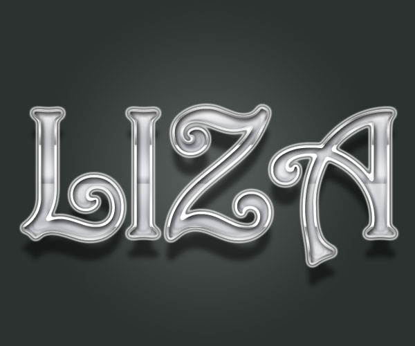 Design Cool Lord-Chrome Text Effect - Text effects Lorelei Web Design