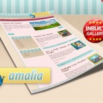 Amalia Sweet Free Wordpress Theme for Our Readers