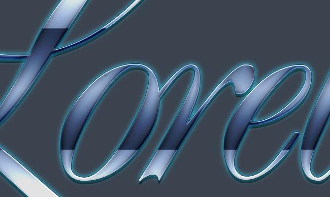 Elegant Glass - Gorgeous Text Effect With PSD Download - Photoshop Resources Lorelei Web Design