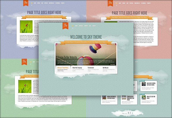 Download New Elegant Themes WP Theme - Sky - Blog Lorelei Web Design