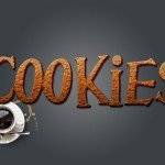 Sweet Cookies Text Effect in Photoshop For Beginners