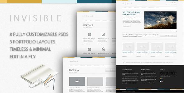 New Premium Download - Full 8 Pages PSD Website Template - PSD Web Templates Lorelei Web Design