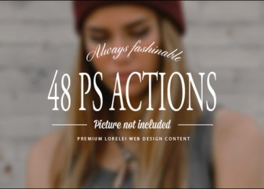 48 New Premium Photoshop Actions For Our Members - Featured Lorelei Web Design