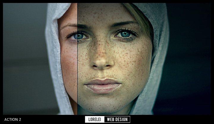 """Download """"Lucky 13"""" Photoshop Actions to Set You In 13 Different Moods - Photoshop Actions Lorelei Web Design"""