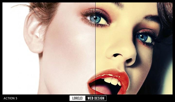 "Download 10 New Actions ""Unlock Your Creativity"" Vol. 2 - Photoshop Actions Lorelei Web Design"