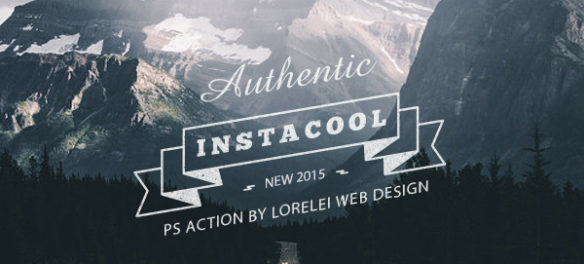 InstaCool - Universal Photoshop Action For Instant Results - Photoshop Actions Lorelei Web Design