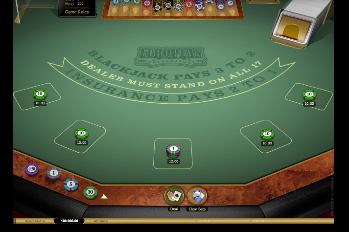Multi-hand European Blackjack Gold - automatenherz.com 2016-06-15 15-12-25