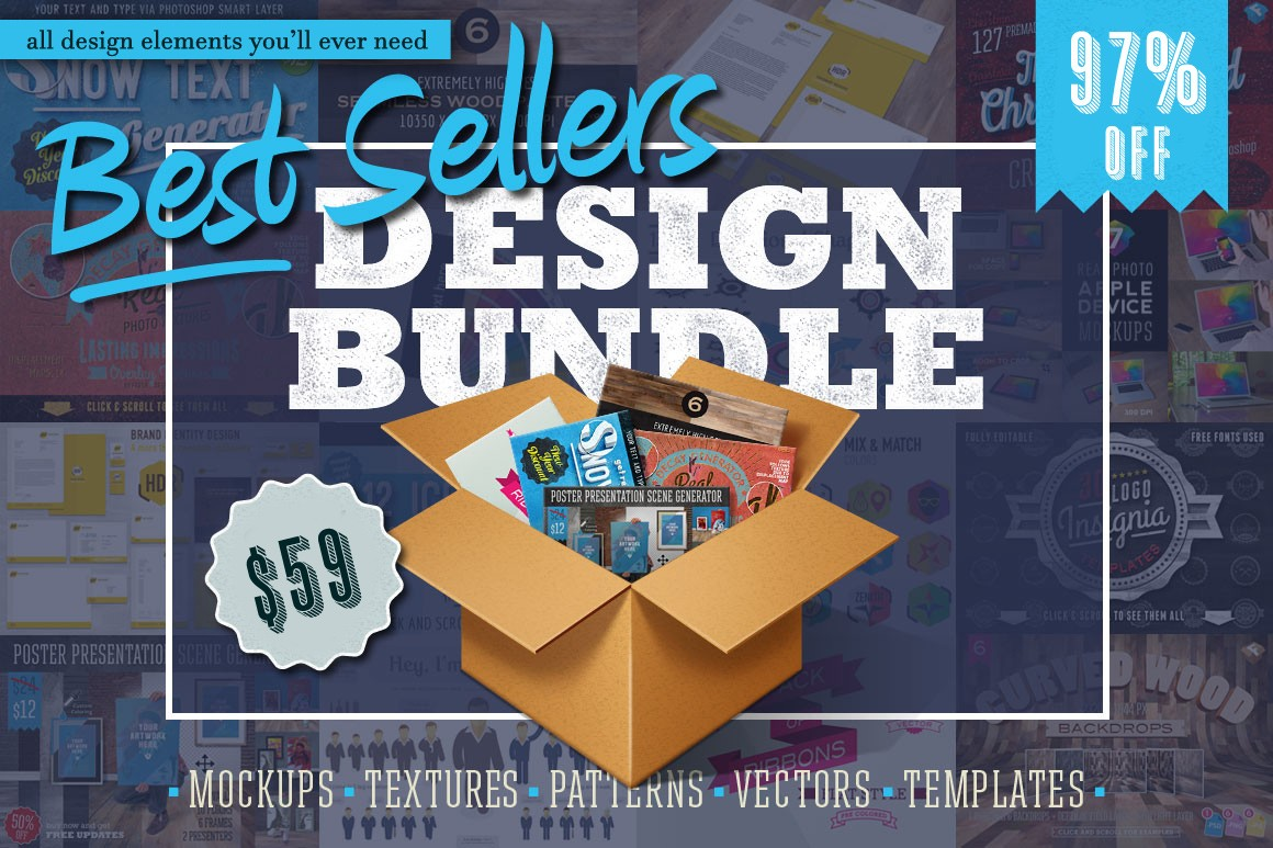 The Most Mega Premium Design Bundle Of All Is Here! - Blog Lorelei Web Design