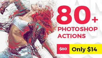 Amazing Collection of 80+ Top Selling Photoshop Actions Is Here - Premium Downloads Lorelei Web Design