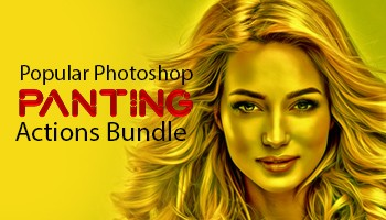 Popular Panting Photoshop Actions Bundle - Premium Downloads Lorelei Web Design