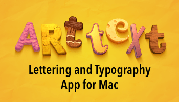 Awesome Lettering and Typography App for Mac - Blog Lorelei Web Design
