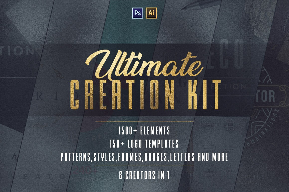 Download 6in1 Ultimate Creation Kit - Only 100 Copies available - Blog Lorelei Web Design