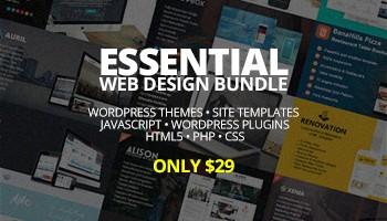 The Biggest Essential Web Design Bundle – Only $29 - Blog Lorelei Web Design