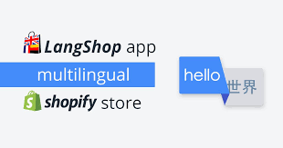 Translate Your Shopify Store with LangShop - Blog Lorelei Web Design