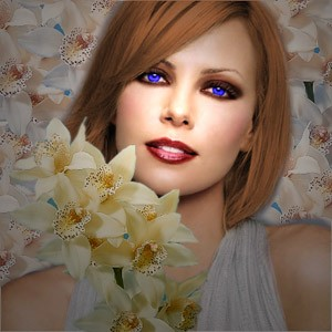 Pure Glamour - Photoshop Tutorial for Making a Hollywood-look photo - Photoshop Tutorials Lorelei Web Design