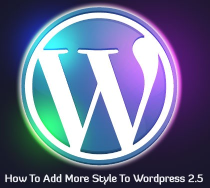 Add More Style to Wordpress Theme - Blog Lorelei Web Design