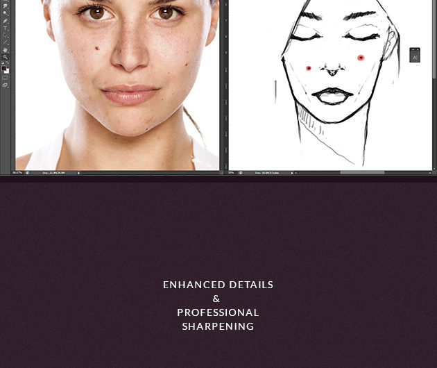 Get Flawless Skin with these  Revolutionary Natural Skin PS Actions - Photoshop Tutorials Lorelei Web Design