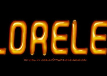 Oily and Shinny Text Effect in Photoshop - Downloads Lorelei Web Design