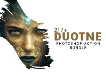 217+ Duotone Photoshop Actions Bundle - Photoshop Actions Lorelei Web Design