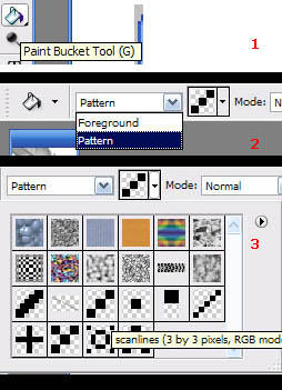 All You Need to Know About Working With Patterns - Create and Implement - Photoshop Tutorials Lorelei Web Design