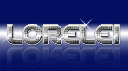 Awesome Text Effect With Sparkles 80's Disco Style - Photoshop Tutorials Lorelei Web Design