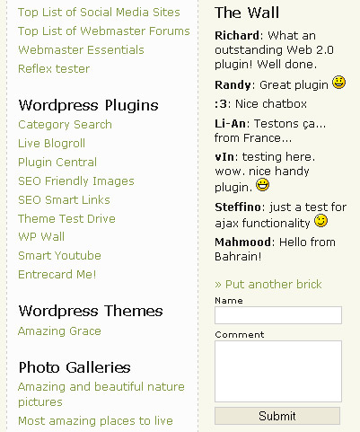 wp-wall-wordpress-jquery-plugin