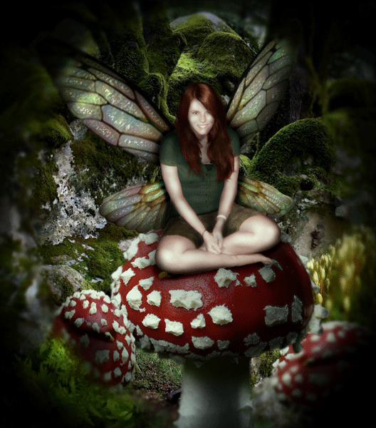 Design a Mystical Miniature Scene with a Fairy Girl - Photoshop Tutorials Lorelei Web Design