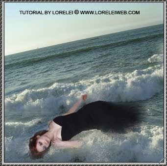Surreal Fantasy Art Photoshop Photomanipulation Tutorial - Photoshop Tutorials Lorelei Web Design