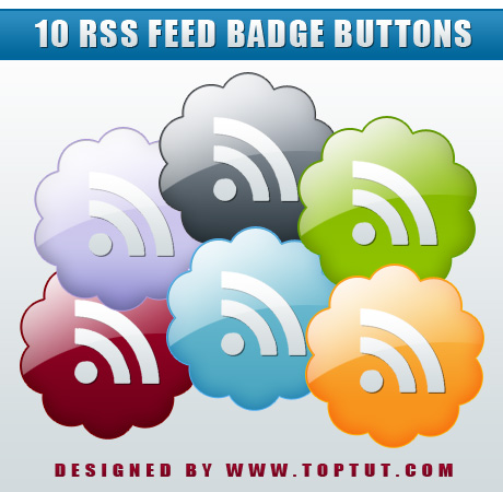 Free Download: RSS Feed Badges / Icons