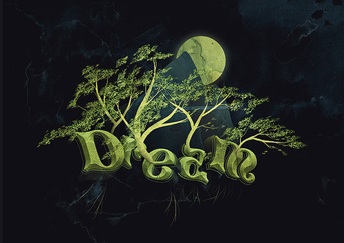 08 in 50 Stunning Photoshop Text Effect Tutorials