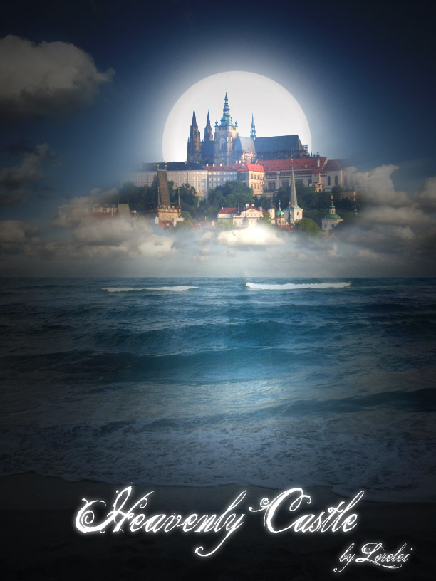 Design Heavenly Castle Illusion Photo Manipulation - Photoshop Tutorials Lorelei Web Design